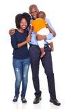 非裔美国人的家庭 免版税库存图片