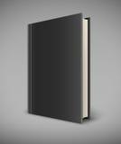 与黑封口盖板的书 皇族释放例证