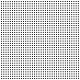 与黑小点的无缝的背景 库存例证