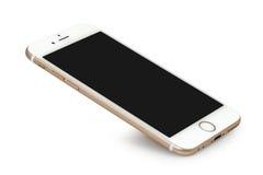 与黑屏的IPhone 6 免版税库存图片