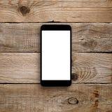 与黑屏的Smartphone 免版税图库摄影