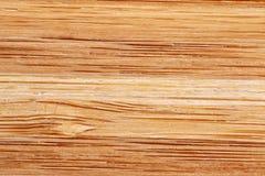 与水平的条纹的竹纹理 免版税库存图片