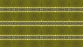 与水平线的抽象黄色背景 向量例证
