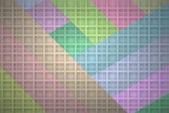 与阴影网格图形的彩带背景 免版税库存照片