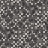 与任意大小正方形的不尽的抽象背景 模式无缝的向量 向量例证