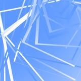与任意正方形的几何背景 锋利单色样式 库存例证