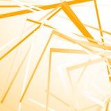 与任意正方形的几何背景 锋利单色样式 向量例证
