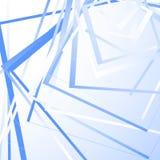 与任意正方形的几何背景 锋利单色样式 皇族释放例证