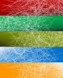 与任意线的抽象五颜六色的背景样式,任意s 皇族释放例证