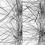 与任意,锋利,不规则的线的几何例证 Dy 库存例证
