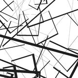 与任意,锋利,不规则的线的几何例证 Dy 向量例证