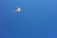与玻璃的风筝 免版税库存图片