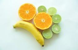 与维生素的果子。 免版税图库摄影