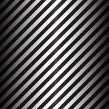 与黑白对角条纹的抽象几何线 库存照片