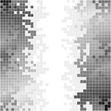 与黑白映象点的抽象背景 图库摄影