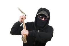 与轴的一次违者攻击 免版税库存照片