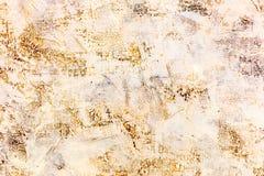 与绘画的技巧的抽象脏的手画织地不很细帆布 库存图片