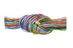 与结的缆绳 免版税库存图片