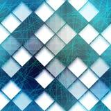 与绿线的几何样式 免版税库存图片