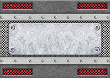 与滤网,设计的, 3d, illustratio金属样式的钢制框架 库存照片