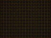 与黄色样式的抽象背景纹理 数字式例证 3d回报 免版税库存照片