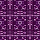 与紫色的明亮的花卉抽象背景 库存图片