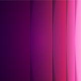 与紫色纸层数的抽象背景 免版税库存照片