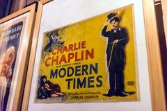 与细节的内部看法在戏院,都灵国家博物馆  免版税库存图片