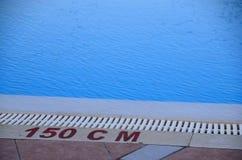 与150 cm的水池 图库摄影