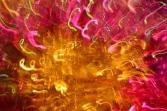 与3d幻觉的灯光管制线  免版税库存图片