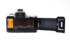 与35 mm影片的照相机 免版税库存照片