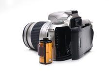 与35 mm影片的照相机 图库摄影