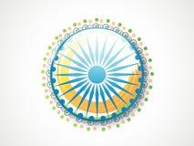 与ashoka轮子的印地安共和国天庆祝 图库摄影