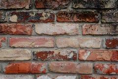 与attritions和镇压的墙壁片段 免版税库存照片