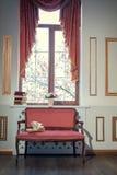 与barocco长沙发的经典内部 库存图片