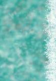 与bokeh的欢乐抽象冬天背景 免版税库存照片