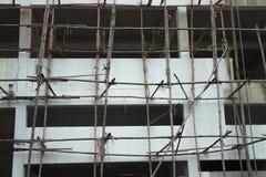 与buiding的木绞刑台建设中 免版税图库摄影