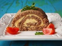 与butter1的肉饼 免版税库存图片