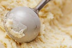 与disher的香草冰淇淋尖叫 库存图片