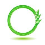 Eco标签 库存例证