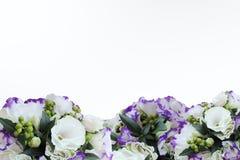 与eustomy的花束 免版税图库摄影