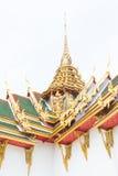 与garuda的泰国建筑学 免版税库存照片