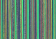 与hvertical绘画的技巧的淡色五颜六色的抽象背景在绿色 库存例证