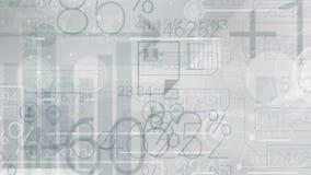 与Infographics的抽象元素的清楚的灰色公司背景 向量例证