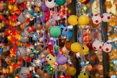 与LED灯的人造花是在顶面畅销品手工制造物品的一份纪念品 图库摄影