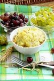 与musli和果子的早餐 库存照片