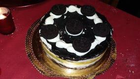 与oreo的蛋糕 库存图片