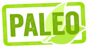 与paleo饮食的邮票例证 向量例证