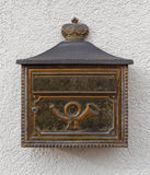 与posthorn的邮箱 库存照片