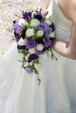 与roses.GN的婚礼花束 库存照片